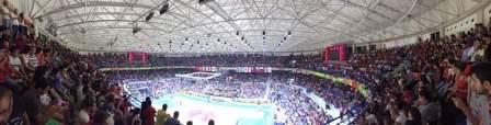 انتهاء مباراة منتخبي لبنان ونيوزيلندا بخسارة لبنان بنتيجة 86-82