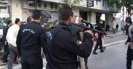 تبادل إطلاق نار بين الحرس الوطني التونسي وعناصر مسلحة