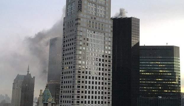 إصابة شخصين في حريق برج