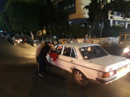 بالصور.. شباب التنظيم الشعبي الناصري يعيدون أهالي صيدا بالاضحى المبارك