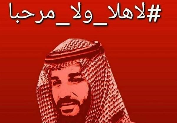 مواقف احتجاجية رفضاً لزيارة ولي العهد السعودي محمد بن سلمان لتونس والجزائر