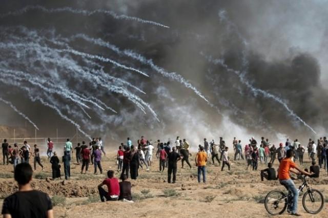 فلسطين تحيي الذكرى الـ 71 للنكبة وإصابة العشرات في قطاع غزة
