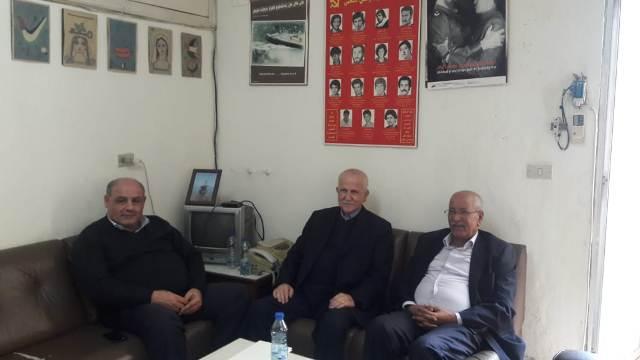الحزب الديمقراطي الشعبي يستقبل وفدا من التنظيم الشعبي الناصري
