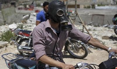 روسيا تنفي قصفها خان شيخون.. ومصدر عسكري سوري: لم نستخدم أسلحة كيميائية