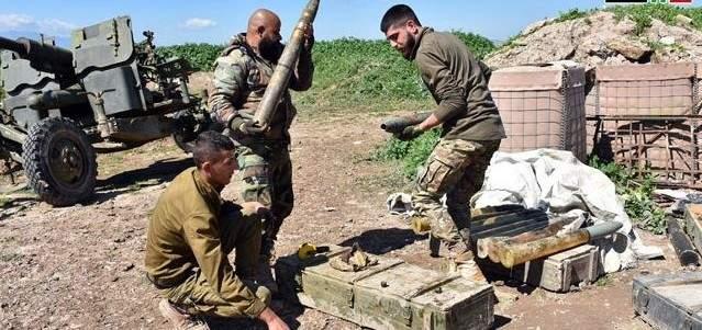 الجيش السوري دمّر أوكارا ونقاطا محصنة لمسلحين بريفي إدلب وحماة