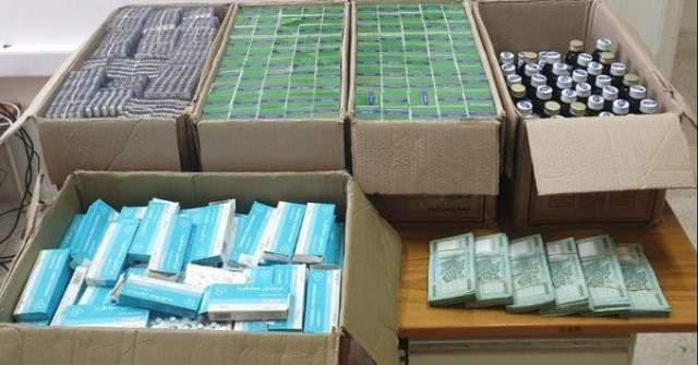 مداهمة لشعبة المعلومات في حي السلّم وضبط كميّات كبيرة من المواد المخدّرة