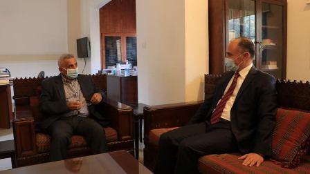 النائب أسامة سعد والسفير التونسي في لبنان يبحثان المستجدات اللبنانية والتونسية والعربية ويؤكدان  على التعاون من أجل مواجهة التحديات