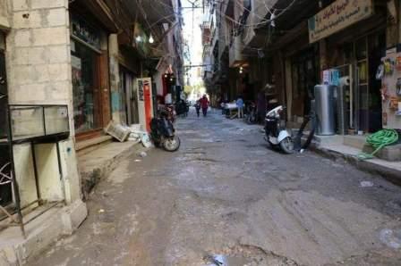 سقوط جريحين اثر وقوع اشكال مسلح في مخيم البداوي