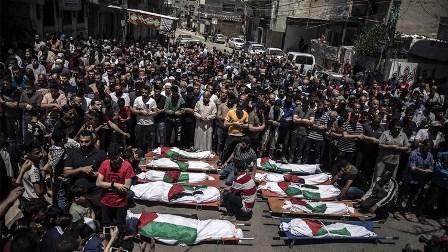 استمرار محاولات انتشال الضحايا في غزة وعدد الشهداء والجرحى مرشح للارتفاع