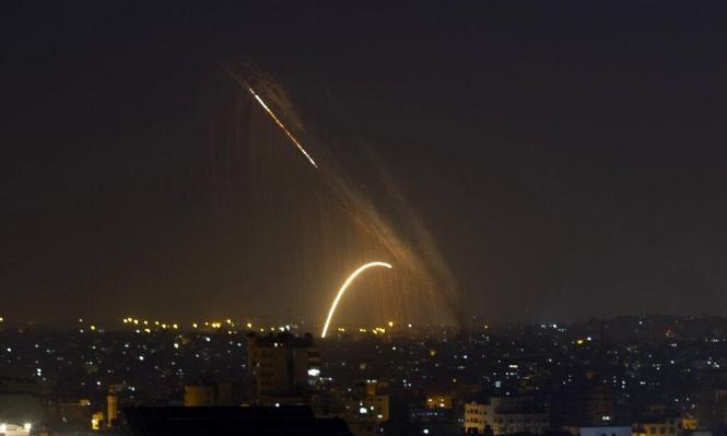 إطلاق 3 قذائف صاروخية من قطاع غزة