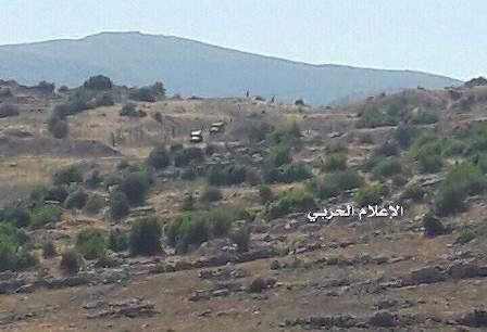 قوة مشاة اسرائيلية تخرق خط الإنسحاب بمنطقة بوابة حسن في كفرشوبا