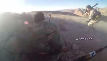 حزب الله يتقدم في القلمون الغربي