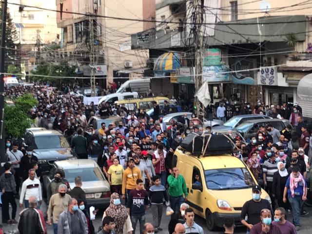 بالفيديو والصور: انطلاق التظاهرة الشعبية في صيدا ضد سياسات اذلال الشعب من قبل منظومة السلطة