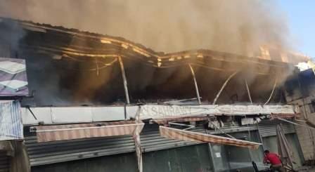 الدفاع المدني سيطر على الحريق الذي اندلع نتيجة احتكاك كهربائي في الأوزاعي