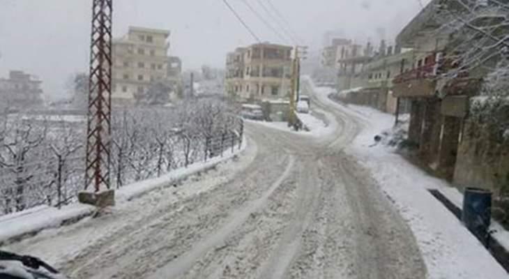 أمطار متفرقة غدا مع تساقط الثلوج الخفيفة على ارتفاع ١٨٠٠ متر