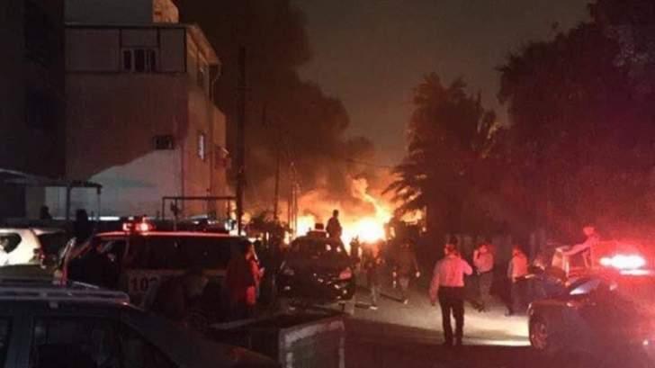 سماع دوي انفجار شرقي العاصمة العراقية بغداد