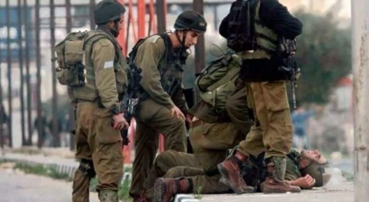 الجيش الصهيوني يطلق النار على فلسطيني بدعوى محاولته تنفيذ عملية دهس