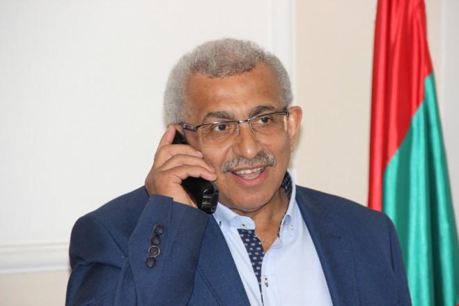 أسامة سعد تلقى من فتحي أبو العردات اتصال شكر على مساعيه من أجل تسهيل قبول التلامذة الفلسطينيين في المدارس الرسمية