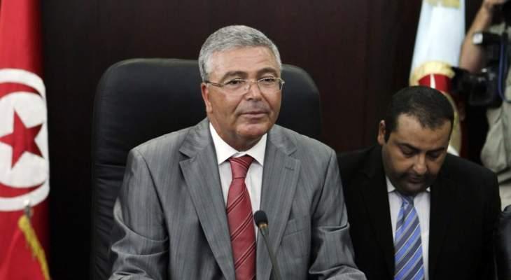 وزير الدفاع التونسي عبد الكريم الزبيدي يعلن ترشحه للرئاسة التونسية