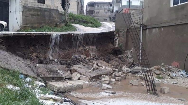 انهيارات صخرية وقطع طرق.. العاصفة تخلّف أضراراً جسيمة في مختلف المناطق اللبنانية