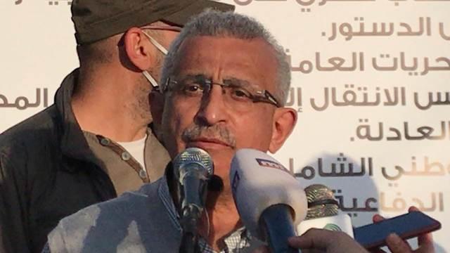 أسامة سعد في مداخلة له خلال التجمع العام للحوار: ساحة الشهداء ستكون ساحة مفتوحة للحوار بين كل المناضلين من أجل التغيير