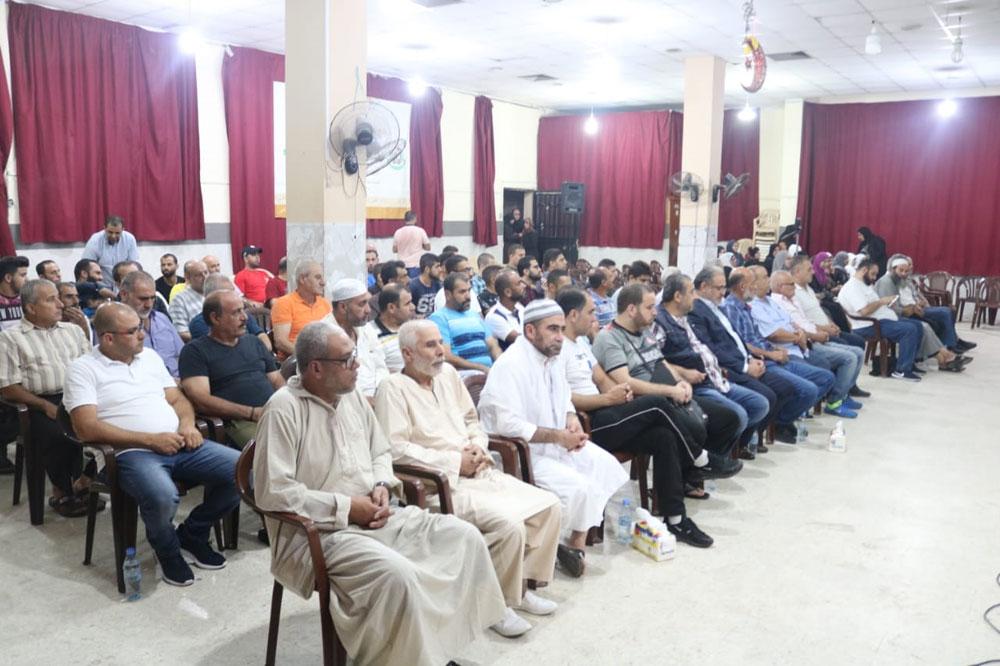 حماس تحتفل بالهجرة النبوية وتكرم الحجاج في عين الحلوة