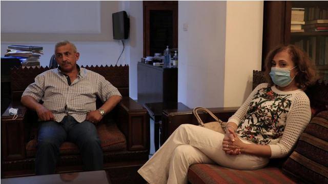 أسامة سعد يستقبل وفدا من جمعية أهلنا