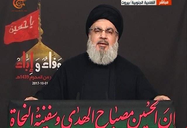 السيد نصرالله: أغلب القوى السياسية اللبنانية لا تنأى بنفسها عن أحداث سوريا