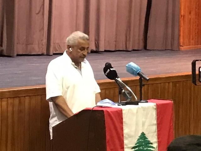 البث المباشر للمؤتمر الصحفي الذي يعقده النائب أسامة سعد تحت عنوان