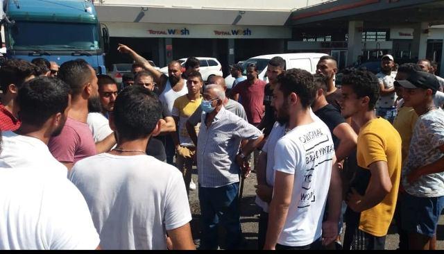 اللجنة العمالية النقابية في التنظيم الشعبي الناصري تستقبل وفد اللجان الشعبية العمالية الفلسطينية