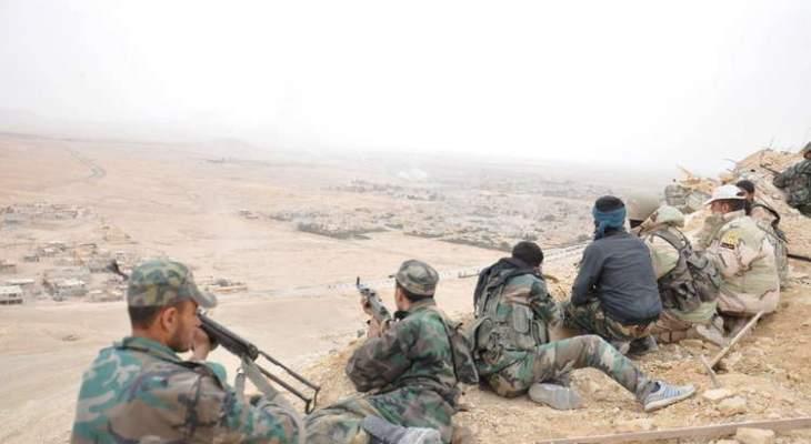 الجيش السوري واصل عملياته العسكرية على المحور الشرقي لخان شيخون