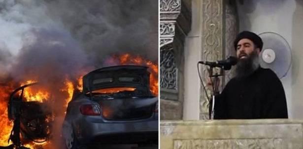 أبو بكر البغدادي يهرب من مكان لآخر