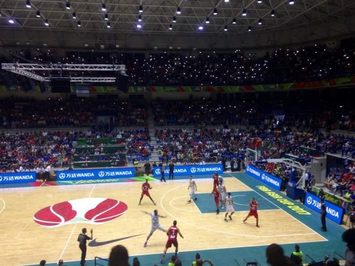 انتهاء الربع الثالث من مباراة منتخبي لبنان ونيوزيلندا بتاخر لبنان بنتيجة 61-67