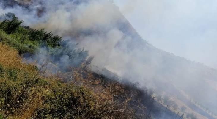 الدفاع المدني: إخماد 5 حرائق أعشاب يابسة في بعلبك وشكا وحنيدر وحراجل والمنية