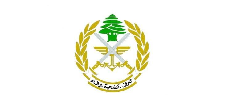 الجيش: سنتخذ الإجراءات القانونية تجاه كل من تسول له نفسه التطاول على المؤسسة وأفرادها وعناصرها