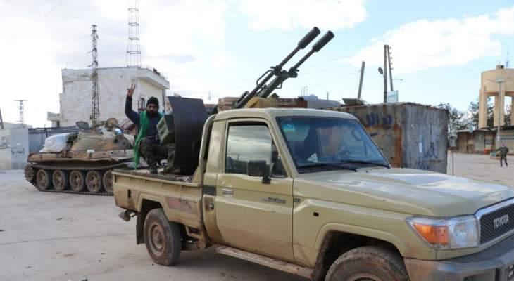 اشتباكات عنيفة بين الجيش السوري ومجموعات مسلحة في مدينة الصنمين