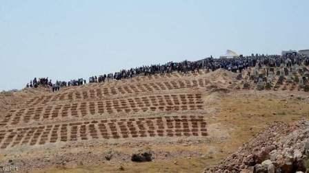 العثور على مقبرة جماعية تضم 70 جثماناً اعدموا على يد داعش بالموصل