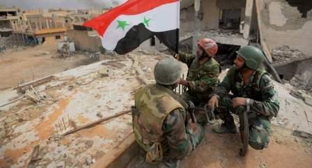 الجيش السوري:أنجزنا مهامنا في إعادة الأمن والاستقرار إلى منطقة القابون