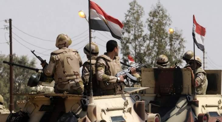 الجيش المصري يعلن عن مقتل 126 تكفيريا بضربات في سيناء