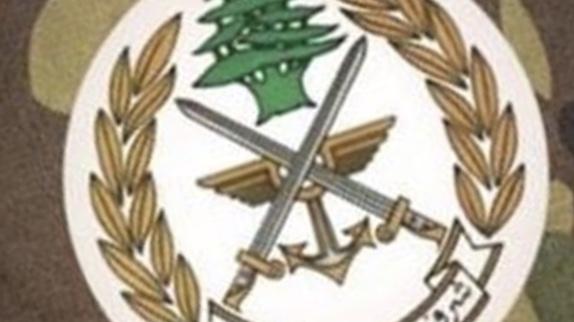الجيش: إقفال معابر غير شرعية في منطقة الهرمل وتوقيف مواطن