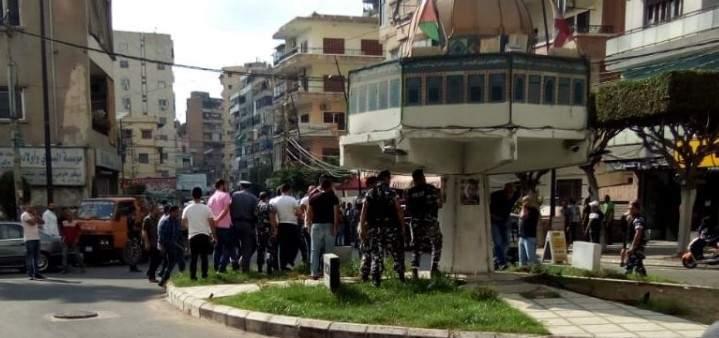 تسليم مطلق النار ومفتعل الاشكال في ساحة القدس بصيدا