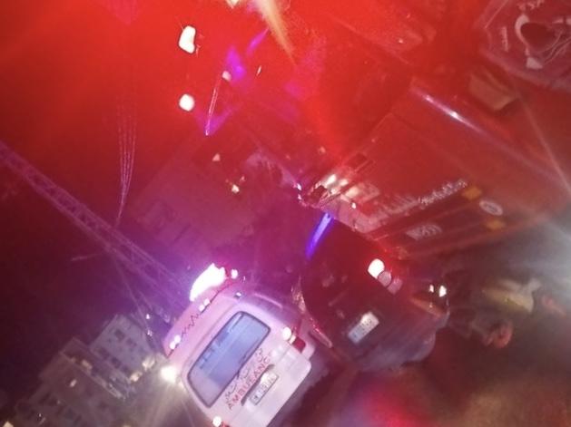 بالصور ... أضرار مادية في حريق داخل منزل في الشرحبيل