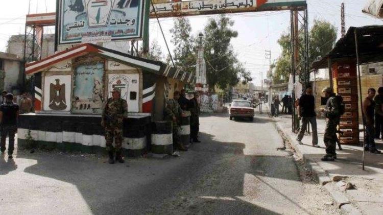 إطلاق نار في الشارع التحتاني لمخيم عين الحلوة على خلفية اشكال عائلي
