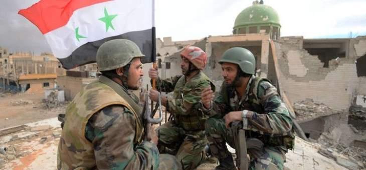 الجيش السوري يسيطر على قرية طليحة المشرفة على مطار تفتناز بريف إدلب الشرقي