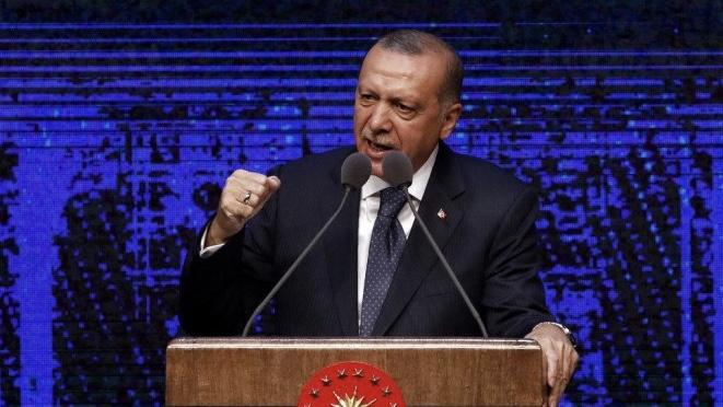 إردوغان يهدد أميركا بالتعامل بالليرة التركية بالتجارة الخارجية