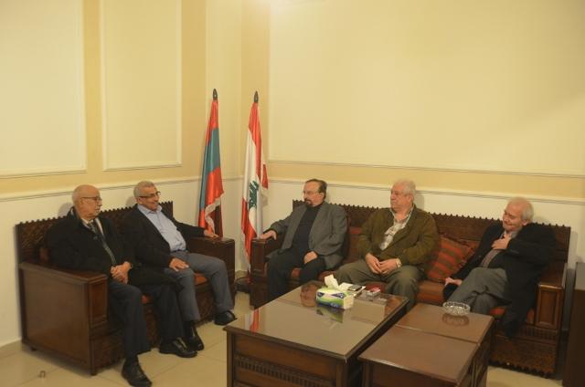 أسامة سعد وعصام نعمان يشددان على أهمية المشاركة في التحركات الشعبية من أجل انقاذ الوطن