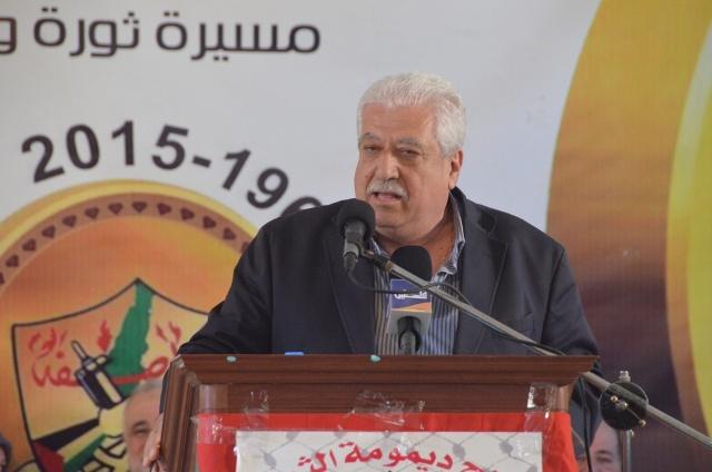 محمد ظاهر في مهرجان منظمة التحرير الفلسطينة: لمعالجة أسباب الاشتباكات في المخيم ولقطع الطريق أمام أي مشروع مشبوه