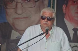 بالصور... محمد ظاهر ممثلا التنظيم الشعبي الناصري  : التحية الى كل مقاوم وثائر يحمي المقدسات