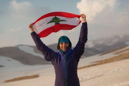 #جويس_عزّام لبنانية في تحدّي القمم السبع... التمويل يهدّد الحلم!
