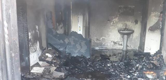 وفاة أم وأطفالها الثلاثة في احتراق منزلهم في بريتال